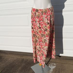 CHRISTOPHER and BANKS floral skirt